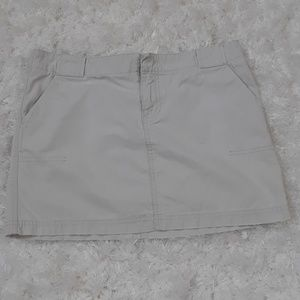 American Eagle khaki chinos skirt Size 4